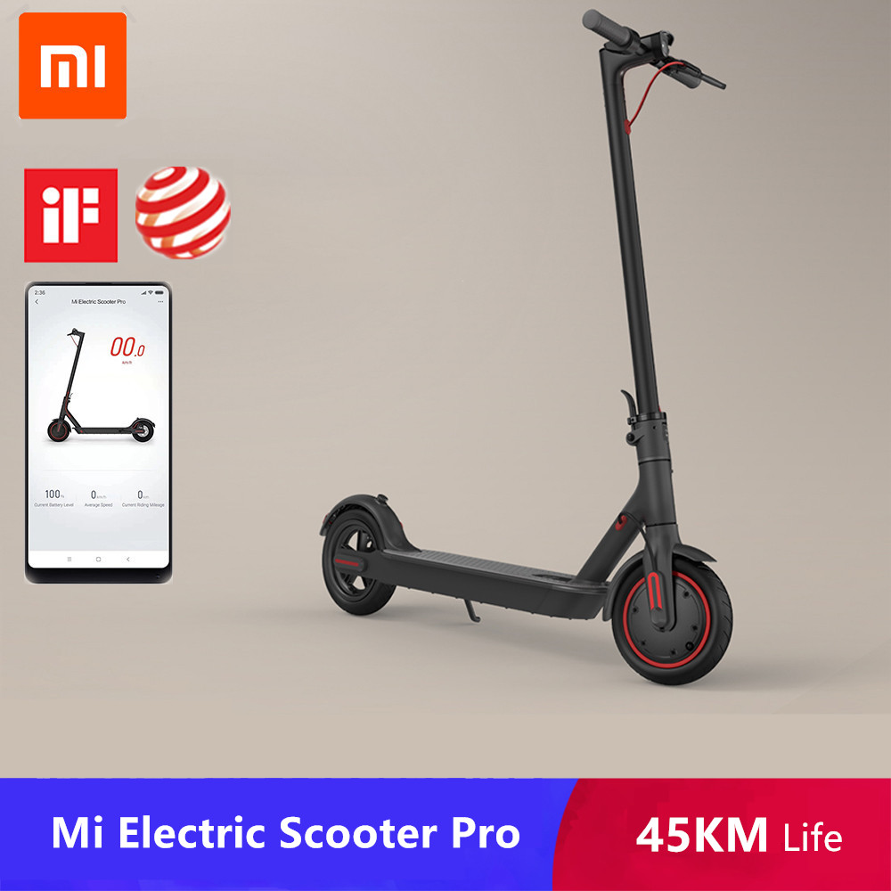 2019 Original xiaomi mijia m365/Pro Mi electric scooter Smart E Scooter Skateboard 2 wheel Longboard Mini Foldable Hoverboard