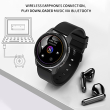 Smart Watch Bracelet Bluetooth Call Heart Rate Sport Fitness Tracker MP3 PlayerComes headphones Watches For Android iOS Huawei