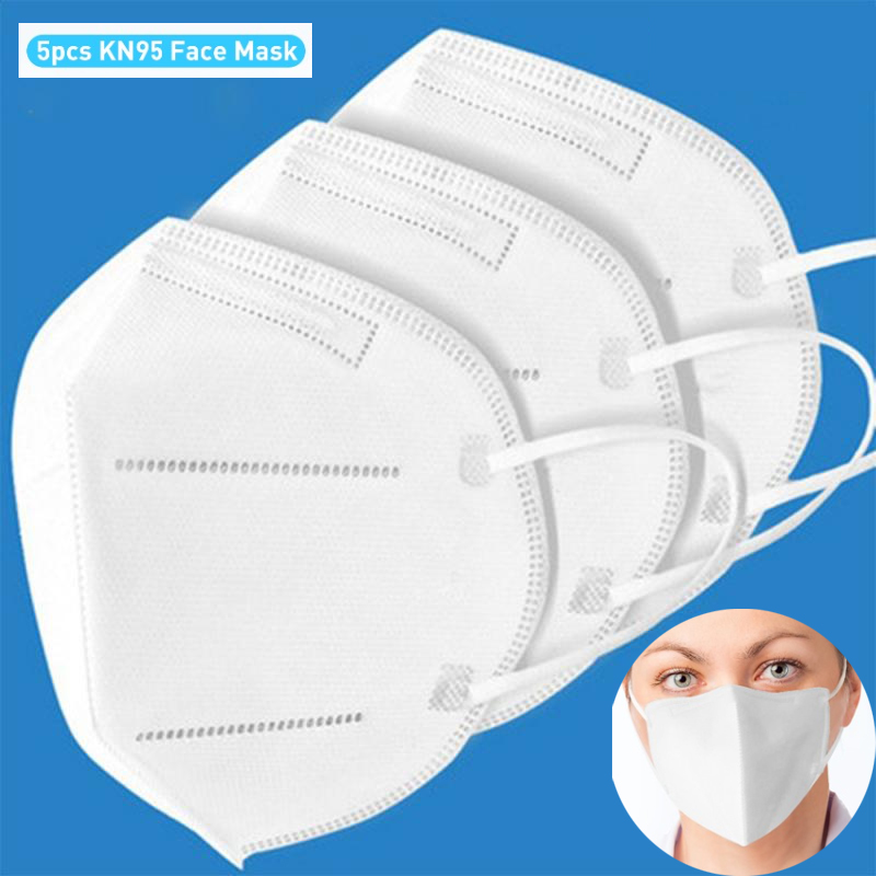10pcs Fast Delivery Hot Sale KN95 Dustproof Anti-fog And Breathable Face Masks N95 Mask 95% Filtration Features As KF94 FFP2