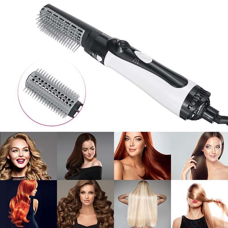 modelador cabelo elétrico rolo curling ferro escova