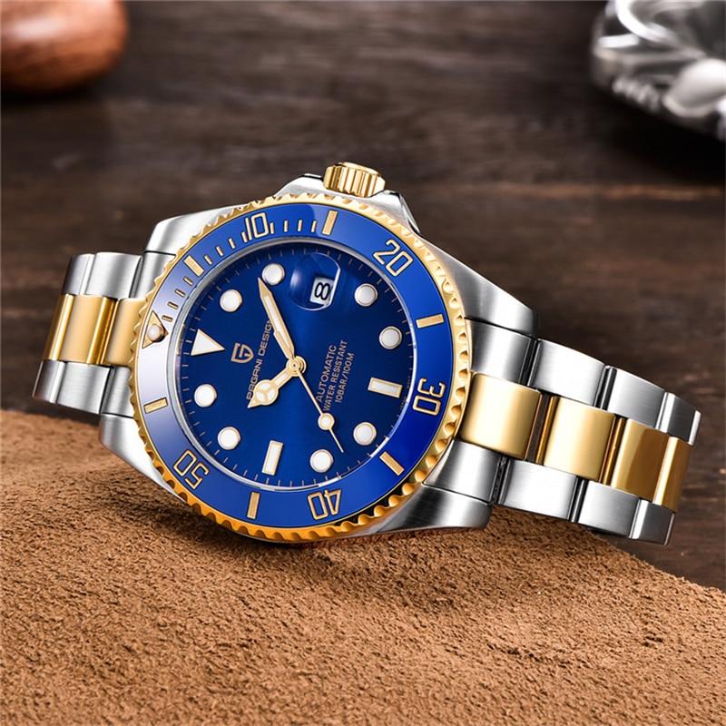 2020 PAGANI Design marque de luxe affaires Sport mécanique montre-bracelet hommes montres en acier inoxydable étanche automatique montre hommes - 5