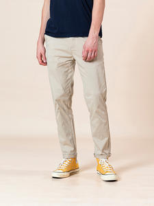 SIMWOOD Casual Pants Trousers Clothing Slim-Fit Chinos Male Plus-Size Summer Cotton Fashion