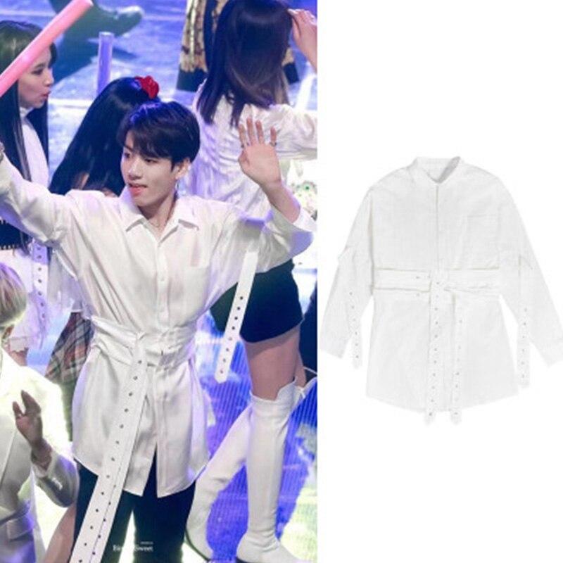 Chemise à lacets pour garçons KPOP Bangtan carte de la Soul Persona JIMIM SUGA JIN JUNGKOOK Rap monster Love you vêtements d'automne LJJ262