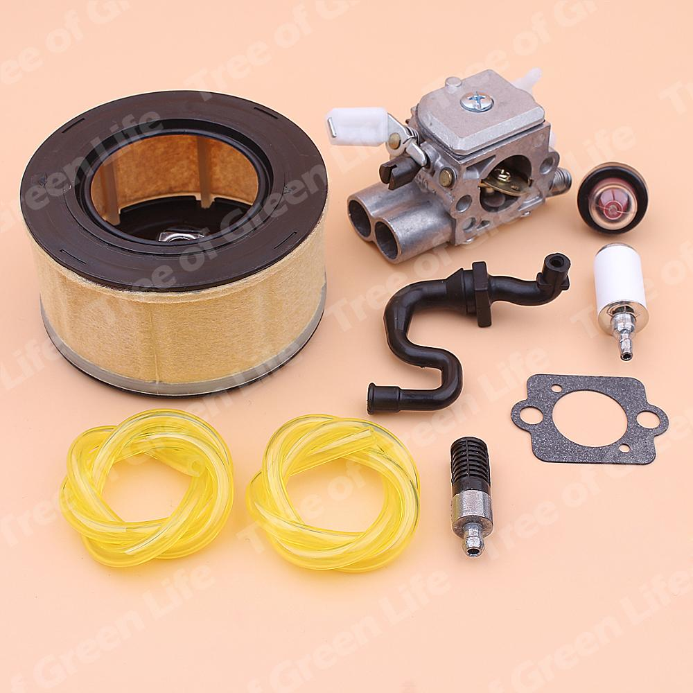Tools : Carburetor Carb For Stihl MS251 MS 251 Air Fuel Oil Filter Line Primer Bulb Kit Chainsaw 1143 120 0617
