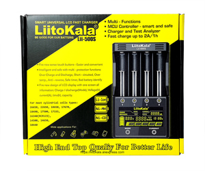 Image 5 - LiitoKala Lii 500S PD4 S6 500 battery charger For 3.7V 18650 26650 21700 1.2V ni mh AA AAA batteries Test the battery capacity