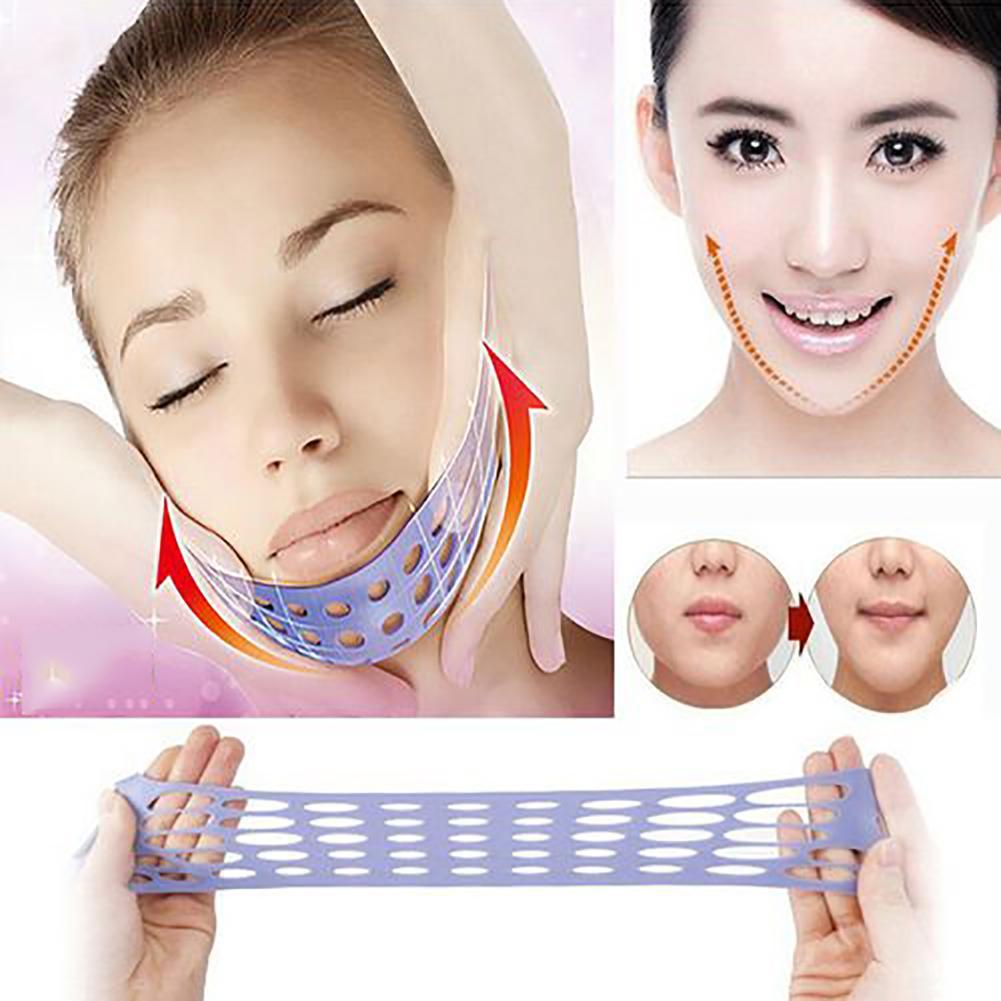 Anti Wrinkle V Face Face Lift Tools Shaper Slimming Mask Belt Chin Cheek Lift Up Bandage Strap Face Lift Tools  Elastic  Vent