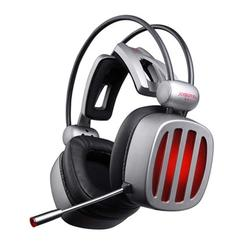 Gaming Headset 7.1 Surround Sound Stereo Headphones with Microphone LED Light for Computer Gamer USB Game Headset