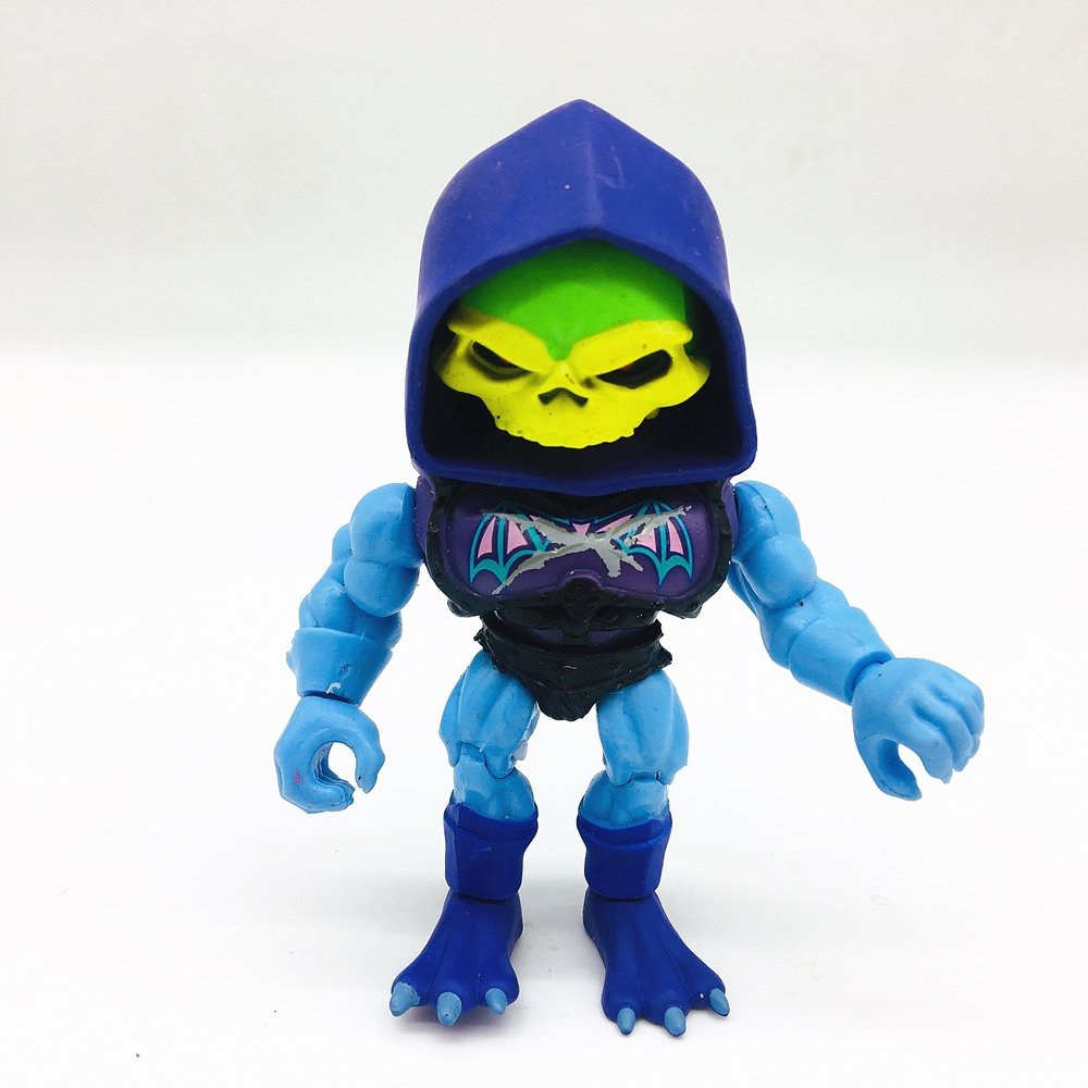 SUPER S7 MOTU Classics Ultimate Filmation Skeletor Action Figure Toy Doll Brinquedos Figurals Model Gift Collection