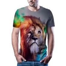 2020 mais quente impresso 3d camiseta tigre lazer esportes masculina/feminina hip hop estilo rua legal masculino topo xxs-6xl