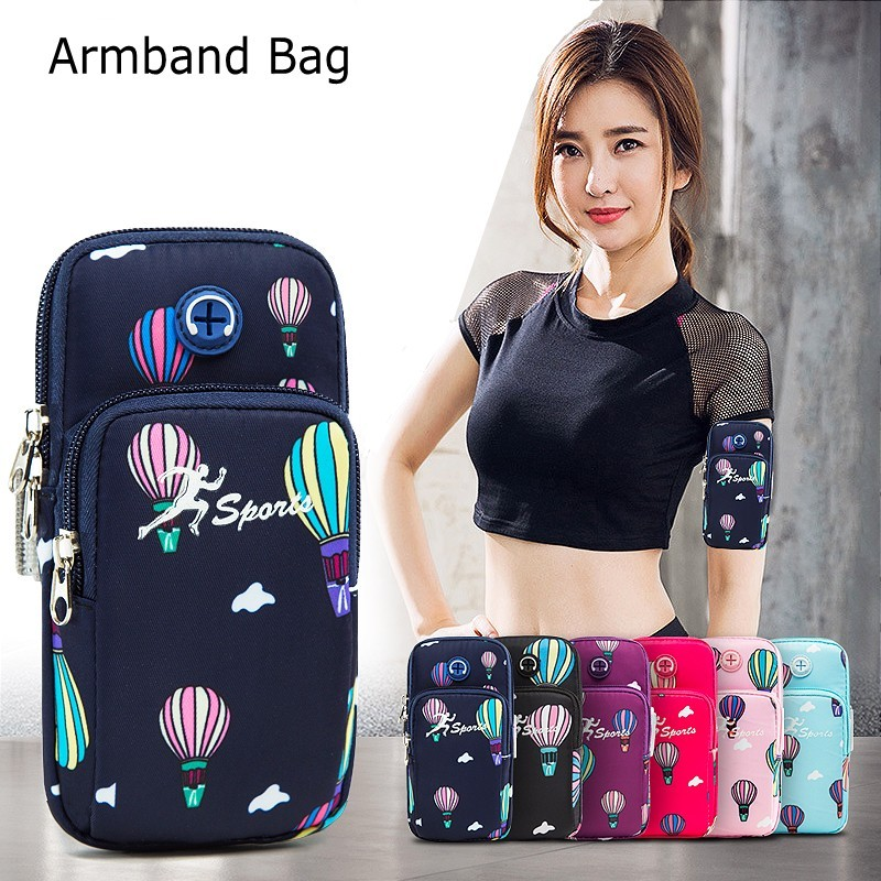 Waterproof Sports Armband For Iphone Universal Cellphone WristBag For Samsung For Huawei 6.5
