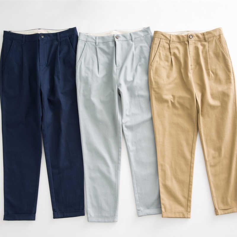 Metersbonwe Kasual Harem Celana untuk Wanita Panjang Harem Celana Wanita Kualitas Tinggi Peregangan Kantor Pinggang Celana Wanita 753524