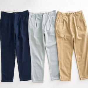 Image 5 - Metersbonwe מזדמן הרמונות מכנסיים לנשים ארוך הרמונות מכנסיים אישה באיכות גבוהה למתוח מותן משרד ליידי מכנסיים 753524