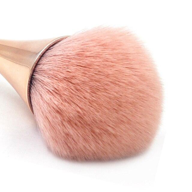 Foundation Brush Makeup Brushes Set Professional Cosmetics Powder Brushes Eye Shadow Lip Brushes Set Face Beauty Makeup Tool 5
