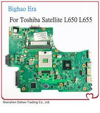 Para toshiba satélite l650 l655 computador portátil placa-mãe 1310a2332402 v000218080 v000218010 w/hm55 ddr3 100% totalmente testado