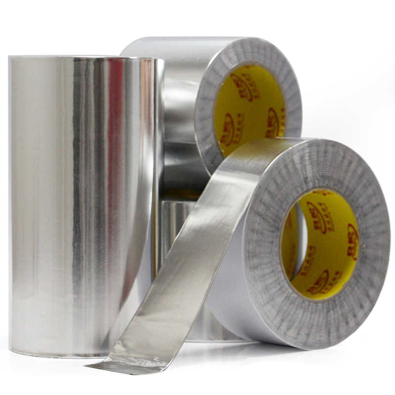 1 롤 20M 알루미늄 호일 부틸 고무 테이프 자체 접착 고온 저항 지붕 파이프 수리 누출 방지 방수