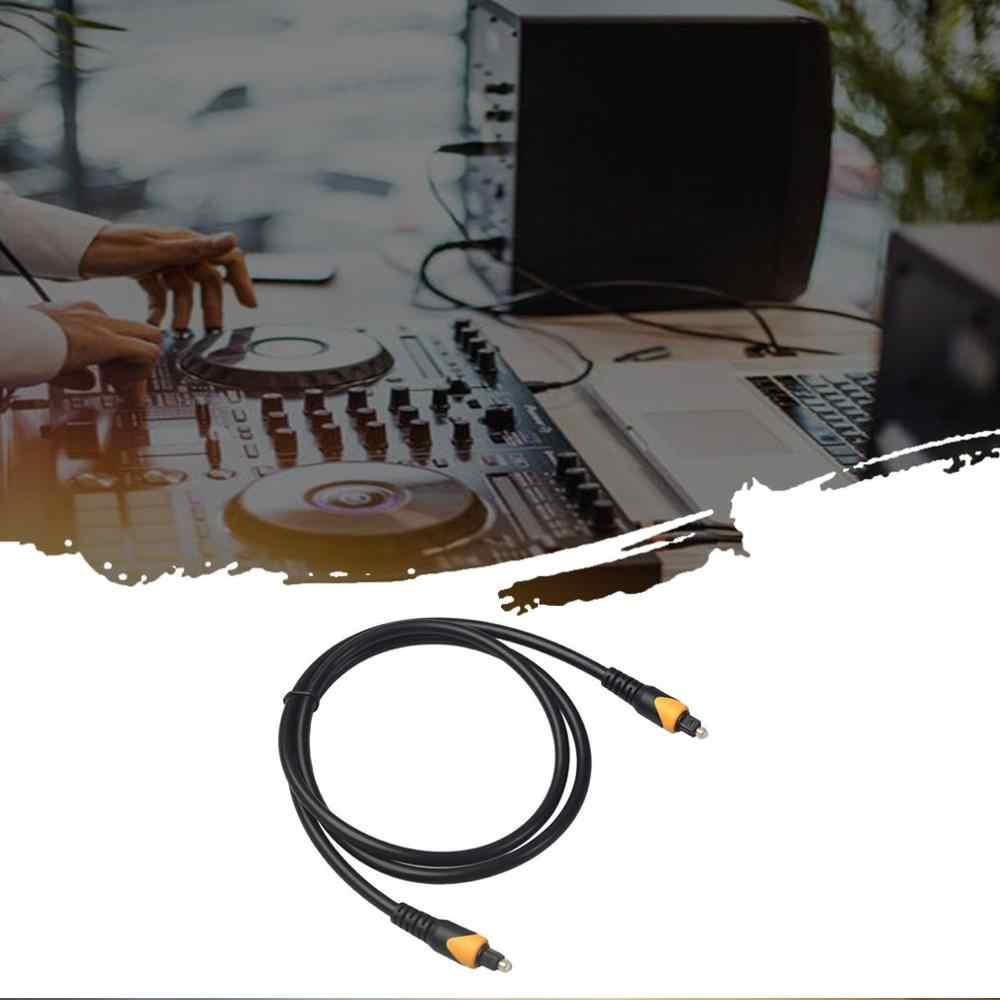 Z włókna kabel optyczny Audio 1m 2m 3m 5m dla tv, pudełko PS4 przewód głośnikowy zestaw głośnikowy typu Soundbar wzmacniacz Subwoofer