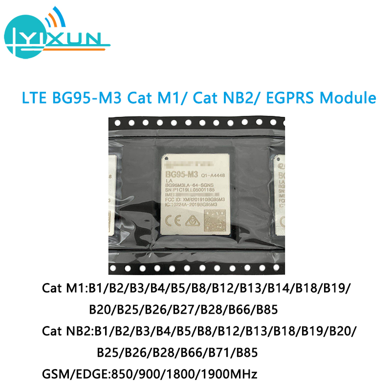 LTE BG95 BG95-M1 BG95-M2 BG95-M3 Cat M1/ Cat NB2/ EGPRS GNSS Module Provides Pin-to-pin Compatibility With BG96 BC95 UG95 UG96