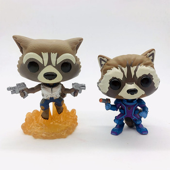 FUNKO POP Guardians of the Galaxys Vol. 2 ROCKET #201 Vinyl Figure Dolls Toys 1