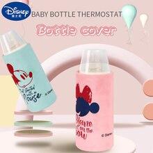 Disney Mickey Minnie Bebé Productos aislante para botella de leche de circulación de calefacción USB portátil de temperatura de carga mantener caliente