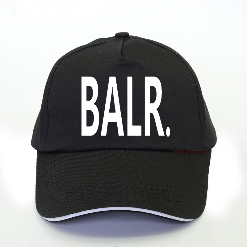 Hot Sales BALR Athletic Men Baseball Cap Fashion Casual Women Pop Harajuku Snapback Hat Outdoor Summer Gorras Hombre