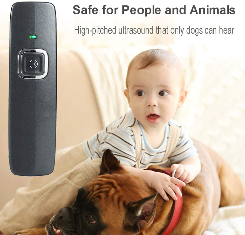 Benepaw Ultrasonic Anti Barking Device Wrist Strap Hand-Held Dog Repeller Bark Control Pet Behavior Training 6m/19ft Range 4