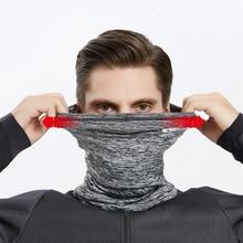 Winter Thermal Fleece Bandana Neck Warm Gaiter Sport Face Ear Cover Outdoor Sports Scarf Sports Headwear Winter Accessories