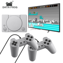 Data Frog 620 Retro Games Video Console Duble Gamepad With 8 Bit Support AV Out Put Family TV Video Game Console