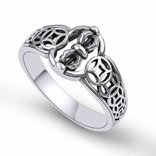 925 sterling silver 925 Ring New Vajra Simple Rotating Ring Coins for Men and Women Christmas Gift Fine Jewelry hongclub 2017 new s990 sterling silver ring men jewelry magpie flower wedding brand ring women gift fine jewelry wholesale r18