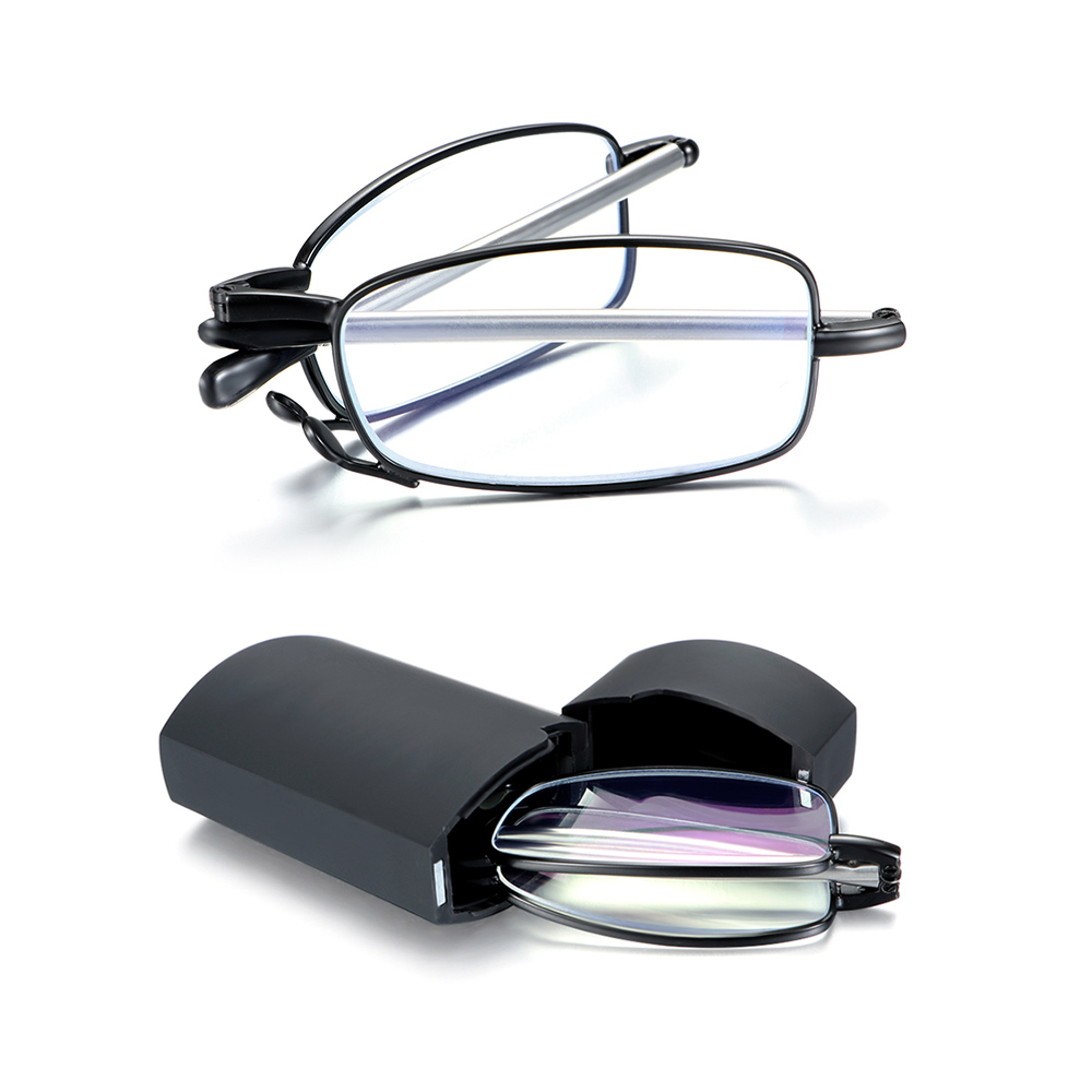 Presbyopia Eyeglasses Unisex Blue Light Blocking Glasses Folding Reading Glasses Computer Goggles Anti UV Eyewear Vision Care