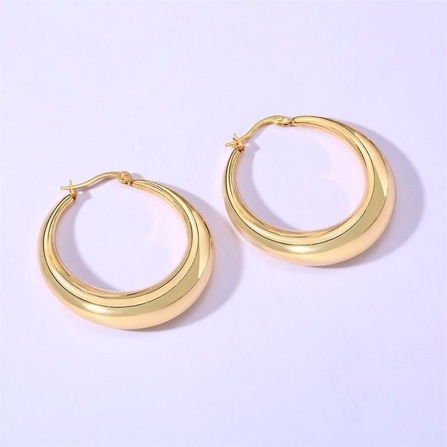 Guldfarvet hul punkt rustfrit stål