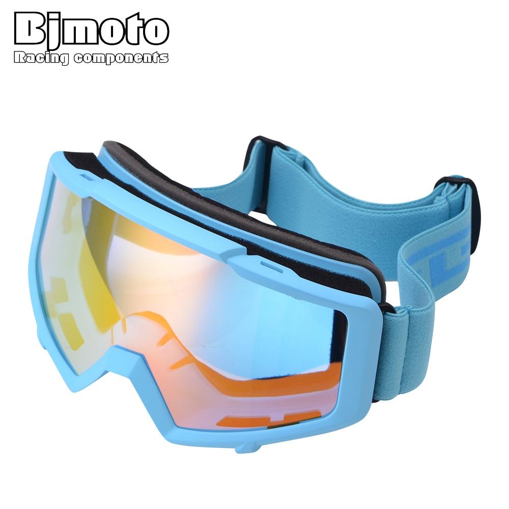 BJMOTO extérieur Motocross lunettes hiver neige Sports Snowboard Ski masque Gasses Ski hommes femmes Snowboard lunettes