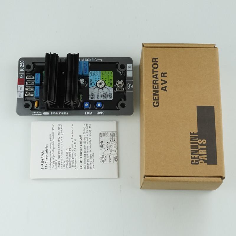 Tension automatique pour Leroy Somer régulateur R250 AVR Kit électronique intérieur