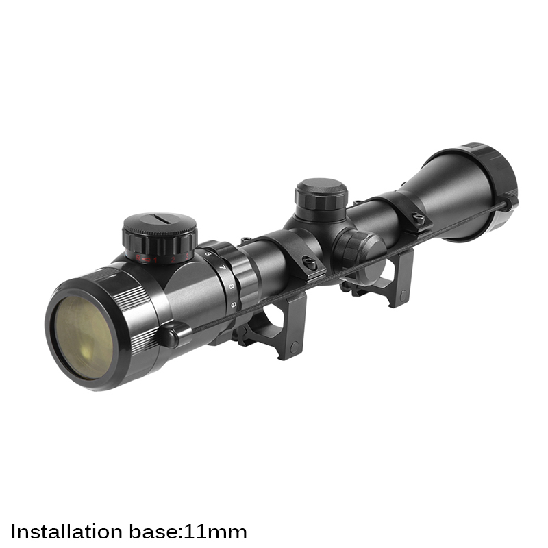 Outdoor Optic Rangefinder For Hunting Shooting Aiming Adjustable Metal Optic Riflescope Wear Resistant Durable Optic Monocular