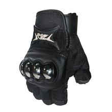 Motorcycle Half Finger Gloves Professional Bicycle Riding Hand Protection Mitten Cycling Breathable Racing