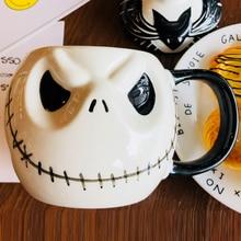 """New Arrival Jack Skellington Mug, """"The Nightmare Before Christmas""""  Cartoon Coffee Mug Tea Cup"""