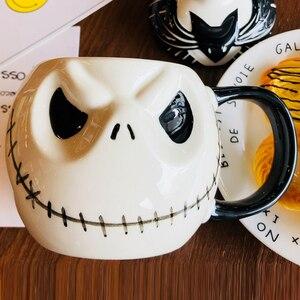 """Image 2 - חדש הגעה שקע Skellington ספל, """"הסיוט שלפני חג המולד"""" קריקטורה קפה ספל תה כוס"""