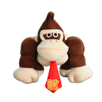 new 10 25cm Super Mario King Kong Stuffed Plush Toys Donkey With Tag Soft Doll For Children Gifts