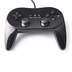 Classic Wired Gamepad Gaming Remote Pro Gamepad Shock Joypad Joystick For Nintendo Wii Second-generation