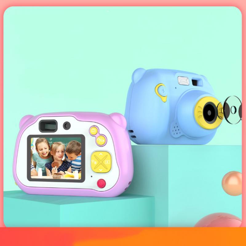 20 millions d'enfants appareil photo numérique retardateur Mini photos jouet alimenté par batterie USB chargement caméras pour enfants cadeau d'anniversaire
