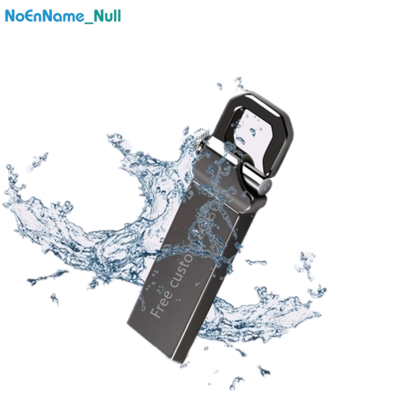 Real Capacity Usb Flash Drive Key Usb 3.0 Flash Memory Stick Metal Pendrive 64GB 32GB 16GB 8GB Pen Drive 128GB  Free Custom LOGO