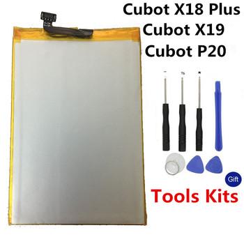 Oryginał dla Cubot X18 Plus bateria 4000mAh o dużej pojemności wymienna bateria do Cubot X19 Cubot P20 bateria w magazynie + narzędzia tanie i dobre opinie VBNM 3501 mAh-5000 mAh Oryginalny ROHS Zużytego sprzętu elektrycznego i elektronicznego SASO CN (pochodzenie)