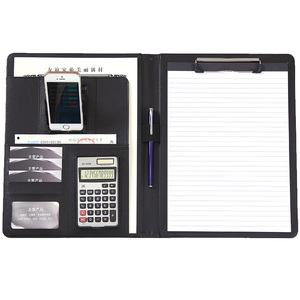 Image 4 - A4 Phone Holder Business Folder Manager Conference Calculator File Document Organizer Layout Carpetas School Office Stationery