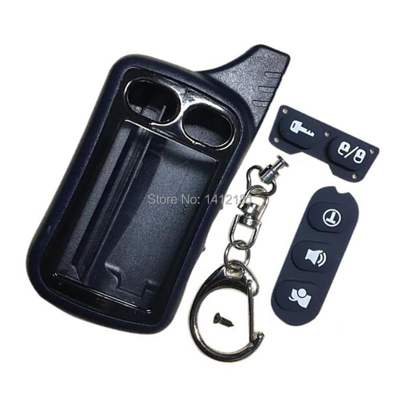 TZ9010 Keychain Case For 2 Way Alarm Tomahawk TZ-9010 TZ-9030 TZ-9020 TZ9030 TZ9020 Key Chain TZ 9010 9030 9020 Remote Control