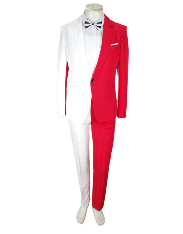 Prom Dresses Custom Made Mens Suit For Wedding Men Tuxedo Suit Wedding Dress Prom Dresses Groom Wear 2Piece Suit (Jacket+Pants)