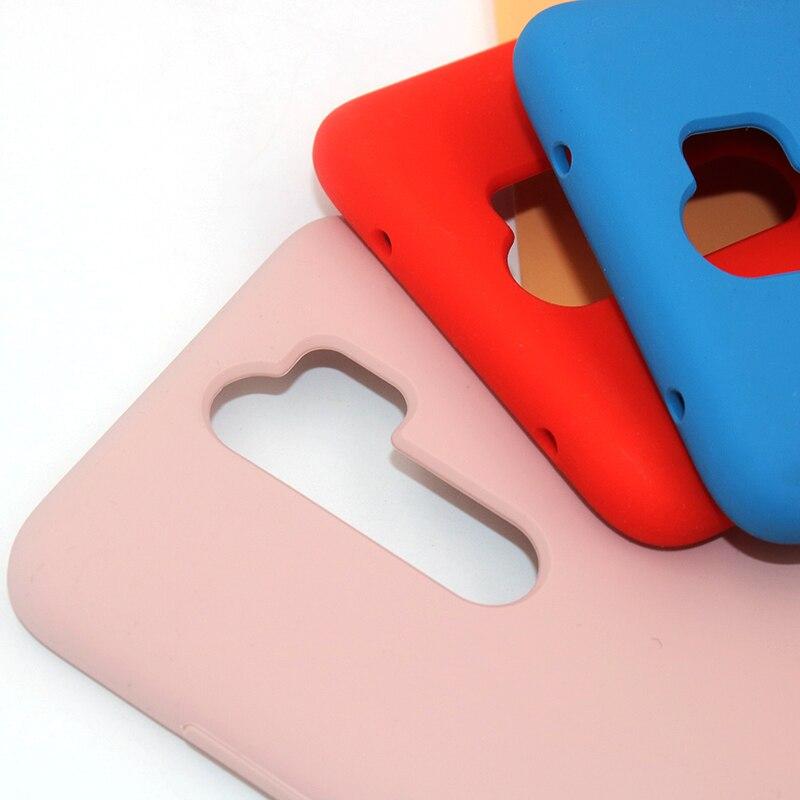 Original XIAOMI Redmi Hinweis 8/8 Pro 8T Flüssigkeit Silikon Fall Seidig Weich-Touch Zurück Abdeckung Für Red mi note8 Pro Telefon Shell 5
