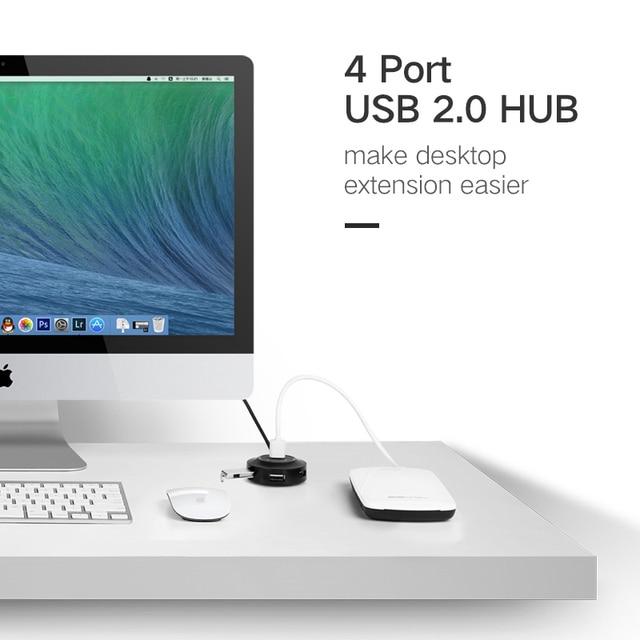 Business Travel Portable device 4 Port USB