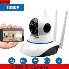 цена на 720P/1080P Wireless Wifi IP Camera CCTV Camera Tilt HD IP Camera Support PTZ Two-way Night Vision Phone APP Control