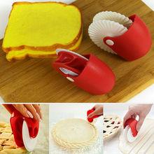 1 шт. дизайн резак колеса ролик круглый кухонный инструмент для приготовления пищи пицца выпечка решетчатый резец кондитерский пирог резак колеса