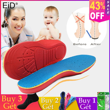 KOTLIKOFF Kids Children Orthopedic Insoles Shoes Flat Foot Arch Support Orthotic Pads Correction Health Feet Care scholl insole все цены