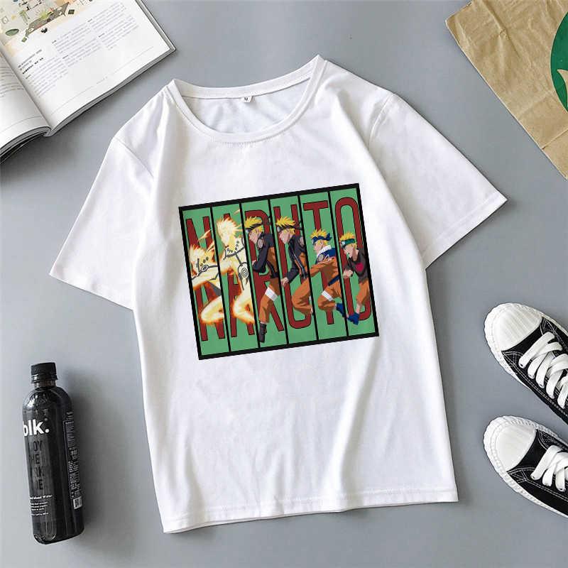Showtly 2020 יפן סמוראי לוחם נארוטו אוצ 'יהא סאסקה איטאצ' י Wome T חולצה Harajuku Streetwear דיאבלו בגדי T חולצה